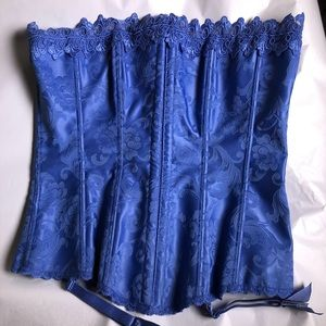 Frederick's of Hollywood Blue Dream Corset